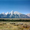 Frontal View of the Grand Tetons