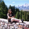 Alisa Hanging Out in Grand Teton National Park